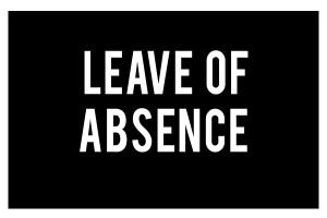 Leave of Absence – Just for Baahubali