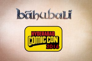 Baahubali at Comic Con Hyd, 2016