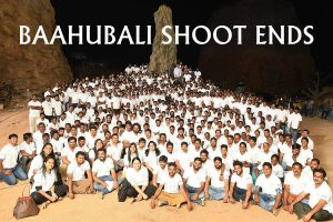 Baahubali Shoot Ends!