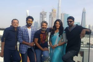 Team Baahubali's Day in Dubai!