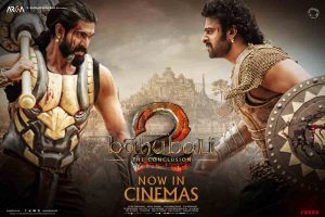Baahubali 2 – The Conclusion now in theaters!